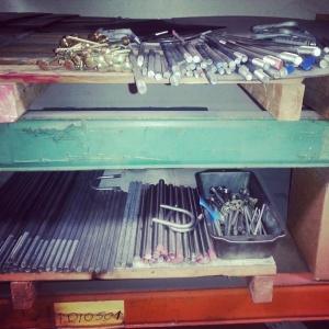 bolt shelf