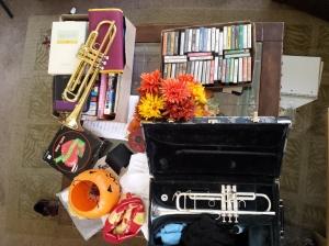 trumpet mess